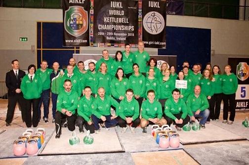 Fundraising for the Irish kettlebell Team